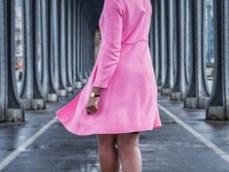 African American woman in Paris at the Bir Hakeim bridge / Black Fashion Photography / Matthieu Waddell Photo / Paris Photographer Matthieu Waddell