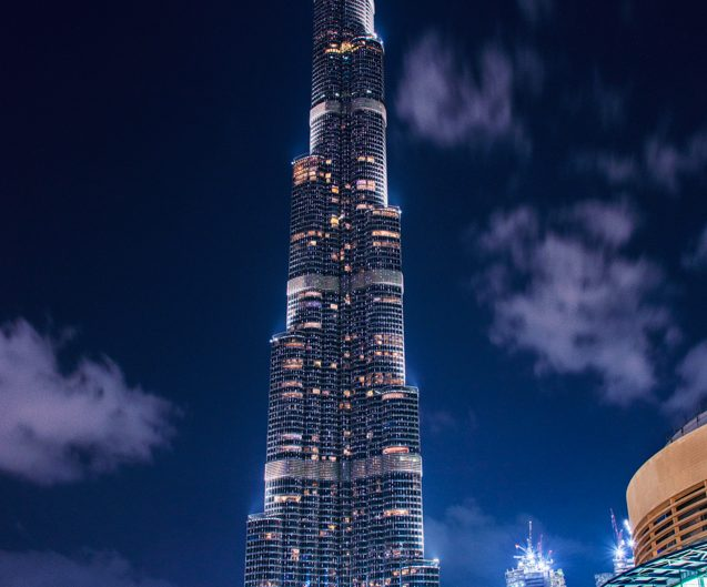 Burj Al Khalifa / Dubai / Travel Photography / Matthieu Waddell Photo / Paris Professional Photographer