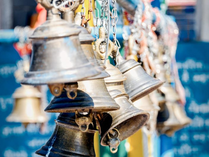 Temple Bells at the Kartik Swami in Uttarakhand / India / Travel Photography / Street Photography / Matthieu Waddell Photo / Professional Photographer / Paris Photographer