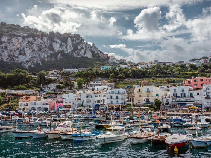 Port of Capri / Italy / Travel Photography / Matthieu Waddell Photo / Professional Photographer / Paris Photographer