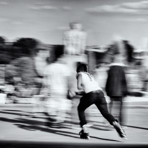 Skater in Paris / Paris France/ Travel Photography / Street Photography / Matthieu Waddell Photo / Professional Photographer